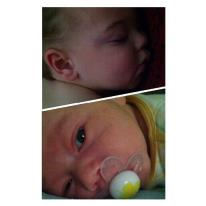 My sweet baby boys: Aidan and Nathan